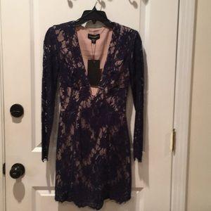 StyleStalker Lace Cocktail Dress SZ XS